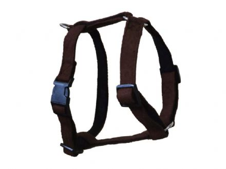 Brown Wool Harness - Small